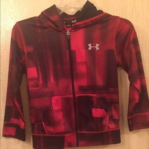 Under Armour Jacket | Boys Size 6 | Red & Black